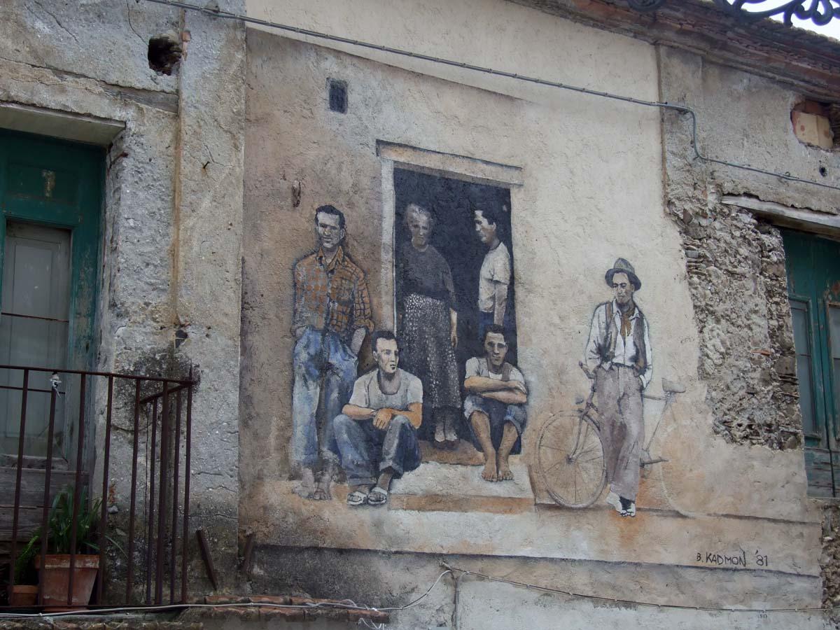 Муралес - искусство росписи стен домов